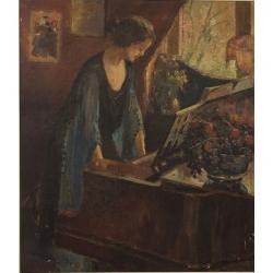 """""""Die Klavierspielerin""""..."""