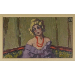 "Fernand Scouflaire (1885 -) ""Femme"""