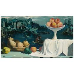 Marcel Delmotte (1901-1984), Fantasy landscape, 1966