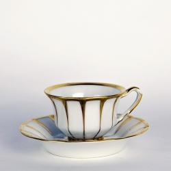 """SOLD - Mocha Cup """"Grecque Athena"""", Fürstenberg"""