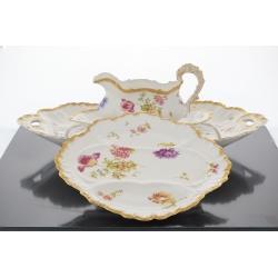 Porcelain Tableware Belle Époque, Limoges, late 19th century