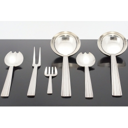 Flatware Art Déco (Christofle/FR), 1935, silver plated