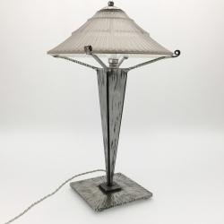 Pair of Art Déco Table Lamps, PIERRE D'AVESN
