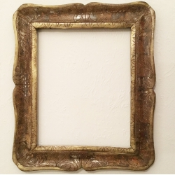 Antique carved wood frame, 18th/19th century