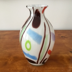 Vintage Glass Vase from the...
