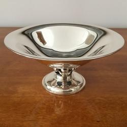 Danish Silver Bowl, Heimbürger, Copenhagen, 1959