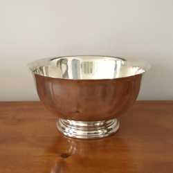 Silver Bowl designed by...