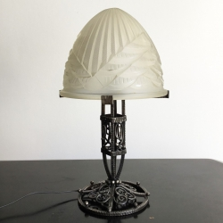 Art Déco Table Lamp, Charles SCHNEIDER