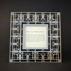Photo Frame inspired by Frank Lloyd Wright