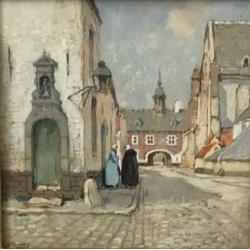 "Henry Cassiers (1858-1944) ""Diest"""