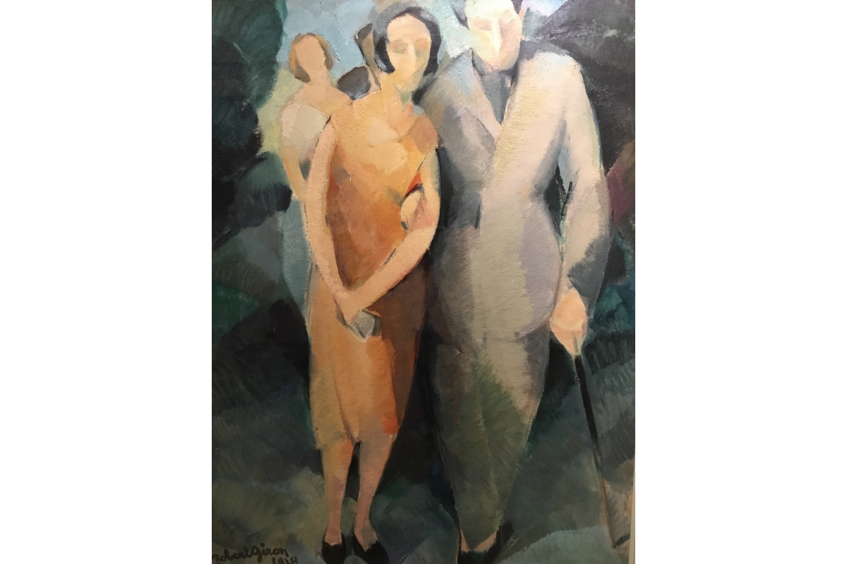 "Robert Giron (1897-1967) ""Le Couple"", 1924"