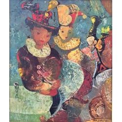 """Igor Tcholaria (*1959) """"La fête au cirque"""""""