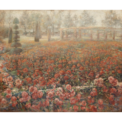 Clémence Hanappe, Roses in the park
