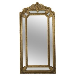Large French Fireplace Mirror Louis XVI