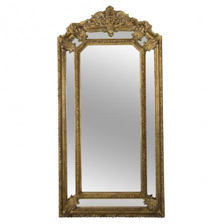 Large French Fireplace Mirror Louis XVI