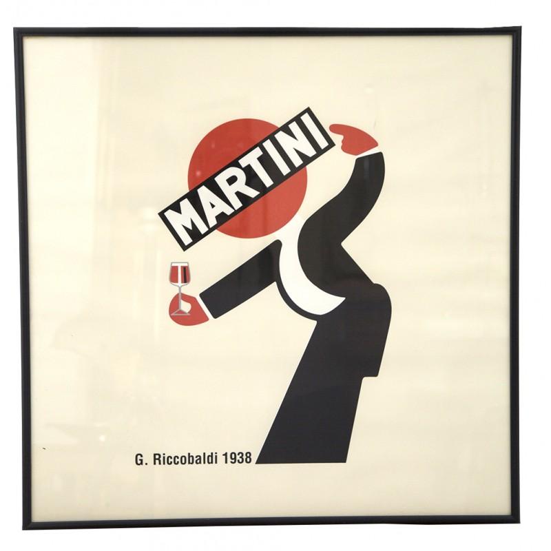 "Screen Print ""Martini"" after the Italian Designer Giuseppe ..."