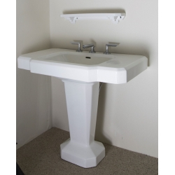 White Marble Art Déco Sink (France)