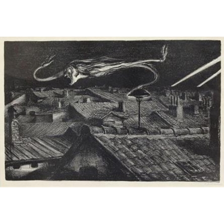 "Andreas Paul Weber (1893–1980) ""Sirene"", 1942"